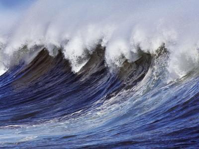Breaking wave on the North Shore of Oahu-Frank Krahmer-Photographic Print