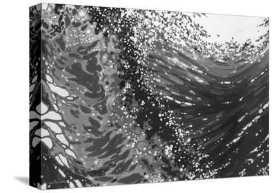 Breaking Waves-Margaret Juul-Stretched Canvas Print