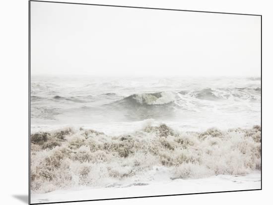 Breaking Waves-Design Fabrikken-Mounted Photographic Print