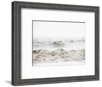 Breaking Waves-Design Fabrikken-Framed Photographic Print