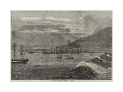 Breakwater, Harbour, and Docks, Table Bay, Cape of Good Hope--Giclee Print