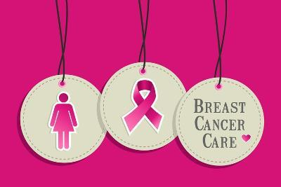 Breast Cancer Care-cienpies-Art Print