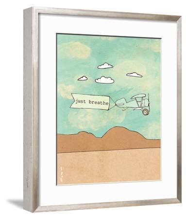 Breathe 2.0-Lisa Barbero-Framed Art Print
