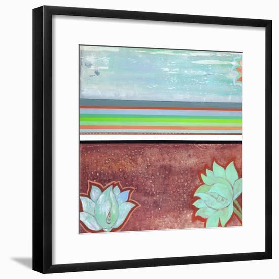 Breathe Some More IV-Jodi Fuchs-Framed Art Print
