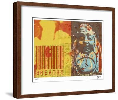 Breathe-Mj Lew-Framed Giclee Print
