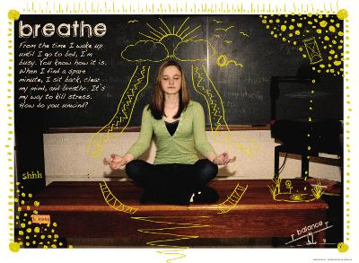 Breathe-Jeanne Stevenson-Art Print