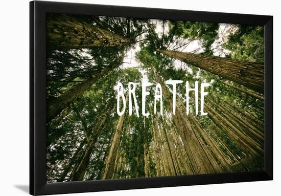 Breathe--Framed Art Print