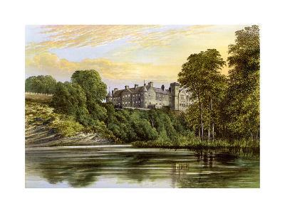 Brechin Castle, Brechin, Angus, Scotland, Home of the Earl of Dalhousie, C1880-AF Lydon-Giclee Print