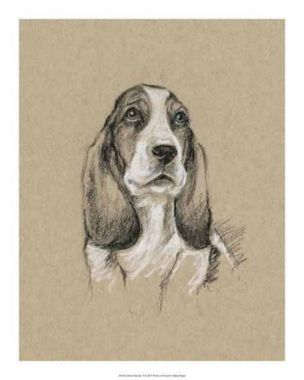 Breed Sketches VI-Ethan Harper-Giclee Print
