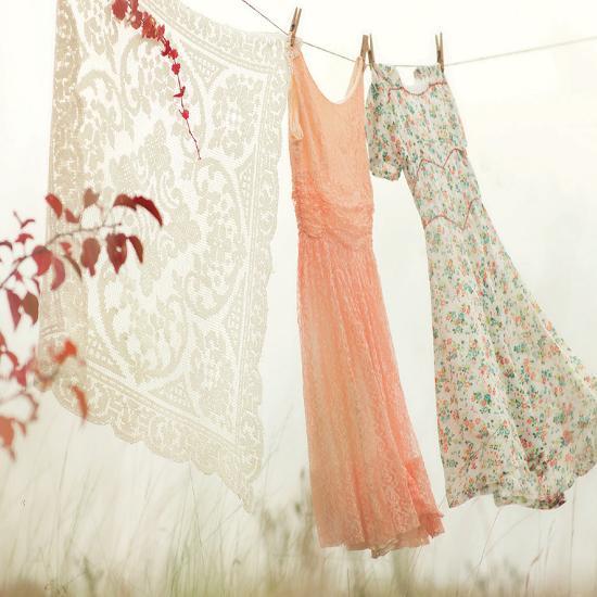 Breezy Dresses-Mandy Lynne-Art Print