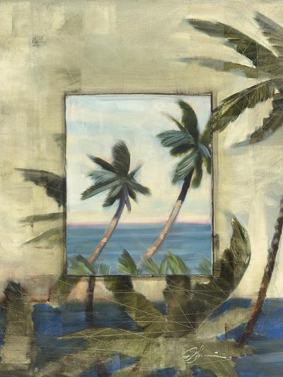 Breezy Palms, no. 1-Jeff Surret-Art Print