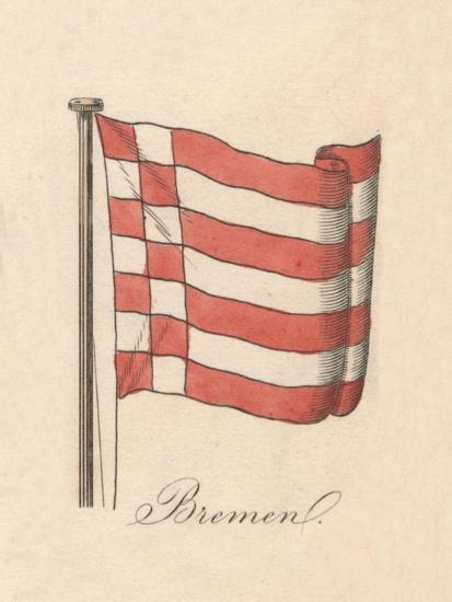 'Bremen', 1838-Unknown-Giclee Print