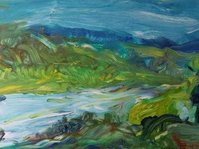 Blue River Landscape II, 1988