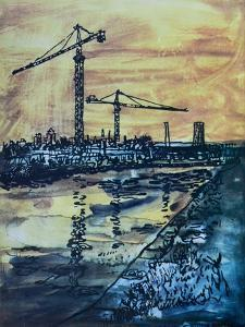 Cranes by the Canal by Brenda Brin Booker
