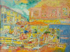 Market on the Square by Brenda Brin Booker
