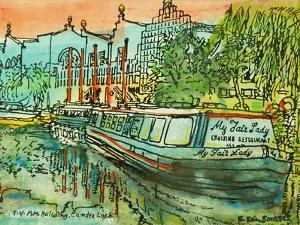 My Fair Lady' on the Regents Canal by Brenda Brin Booker