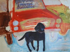 Rex at the Used Car Lot - Three months guarantee by Brenda Brin Booker