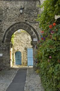 France, Provence, Vaison Du Romain. a Picturesque Lane in the Village by Brenda Tharp
