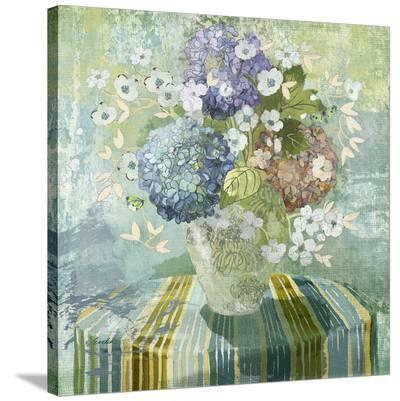 Brendas Hydrangea--Stretched Canvas Print