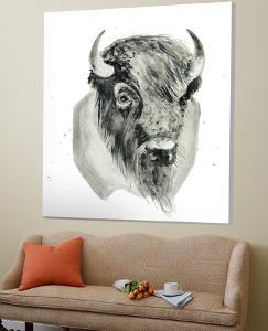 Bison Bust by Brenna Harvey