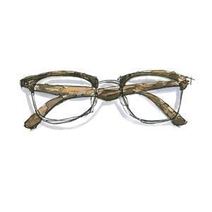 Glasses 2 by Brenna Harvey