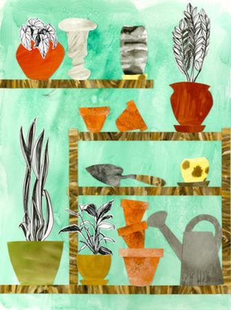 Potting Shed 2 by Brenna Harvey