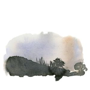 Watercolor 3 by Brenna Harvey