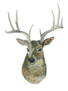 Yarn Deer by Brenna Harvey