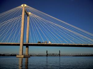 Cable Bridge, Tricities area of Richland, Pasco and Kennewick, Washington by Brent Bergherm