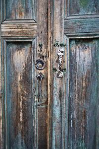 Door and Handle Detail, San Cristobal De Las Casas, Chiapas, Mexico by Brent Bergherm