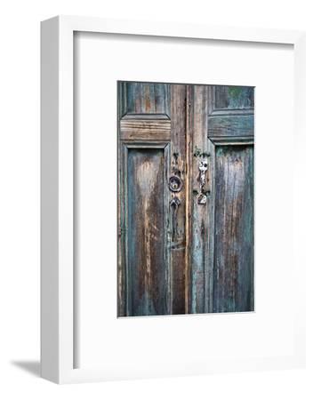 Door and Handle Detail, San Cristobal De Las Casas, Chiapas, Mexico