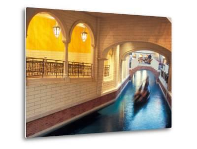 Grand Canal in the Venetian Hotel and Casino, Las Vegas, Nevada, USA