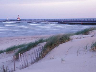 Saint Joseph Lighthouse, Lake Michigan, USA