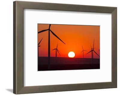 Washington, Walla Walla. Windmills. Stateline Wind Project