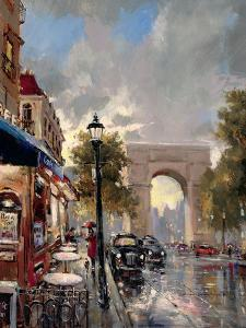 Arc De Triomphe Avenue by Brent Heighton