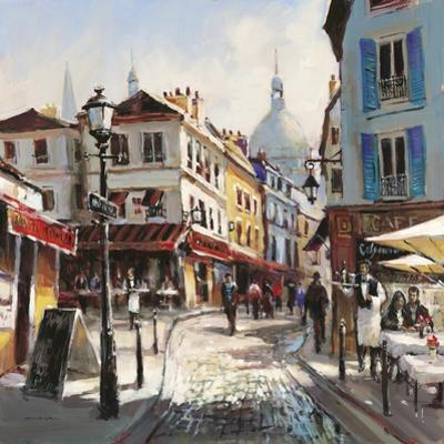 Café Stroll by Brent Heighton