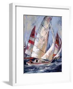 Open Sails I by Brent Heighton