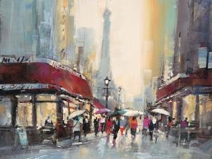 Paris Boulevard by Brent Heighton