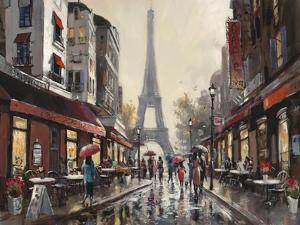 Paris Rain by Brent Heighton