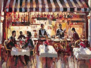 Patio Dining by Brent Heighton