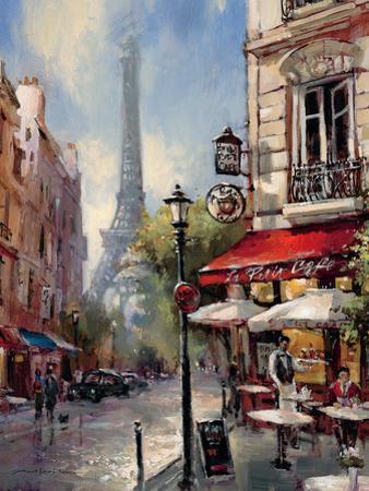 Tour De Eiffel View by Brent Heighton