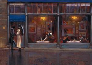 Fifth Avenue Cafe 1 by Brent Lynch
