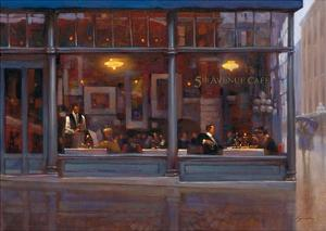 Fifth Avenue Cafe 2 by Brent Lynch