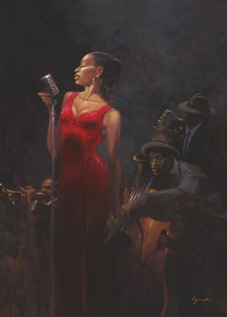 Garnet Diva by Brent Lynch