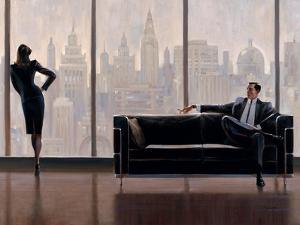Pensive New York by Brent Lynch