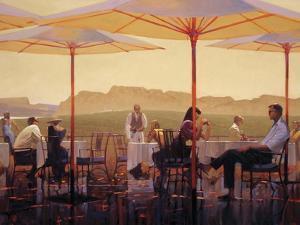 Winery Terrace by Brent Lynch