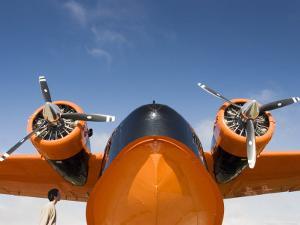 Aeroplane on Display, Alaska Aviatioin Heritage Museum, Anchorage, Alaska by Brent Winebrenner