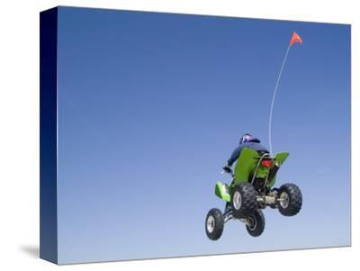 Airborne Atv Rider, Pismo Beach, California