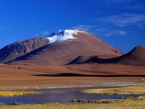 Altiplano Scenery Above the San Pedro De Atacama, San Pedro De Atacama, Chile by Brent Winebrenner