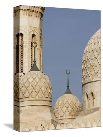 Architectural Detail of Domes of Jumeirah Mosque